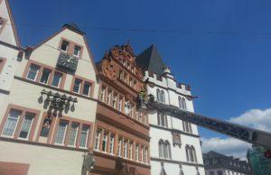 Feuerwehreinsatz am Hauptmarkt in Trier