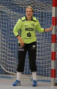 Torfrau Jessica Kockler war beim Sieg gegen Göppingen ein sicherer Rückhalt und trat sogar als Torschützin in Erscheinung.