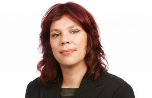 Ist mit den Ergebnissen ihrer Partei zufrieden: Katrin Werner, die Bundestagsabgeordnete der Linken.