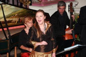 Ließ die Musik mit allen Sinnen erleben. Die Sopranistin Dorothee Mields.