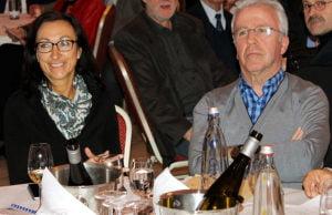 Die neue Oberbürgermeisterin mit ihrem Vor-Vor-Gänger? Hiltrud Zock und Helmut Schröer.
