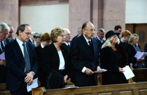 Viele Gäste aus Politik und Medien waren gekommen, um dem bekannten Historiker die letzte Ehre zu erweisen.
