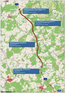 25 Kilometer lang ist die Strecke, die nun zum Ausbau freigegeben wurde.
