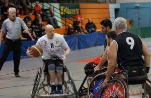 Nicht nur für den Schulsport problematisch: Dirk Passiwan und seine Rollstuhlbasketballer stehen vor ernsten Problemen wegen der Sperrung der Mäusheckerhalle.