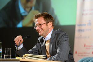 Schlagfertig und humorvoll - Florian Illies war in seinem Element.