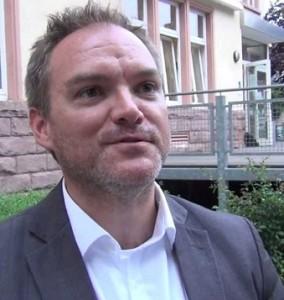Christian Z. Schmitz, DGB-Regionsgeschäftsführer Trier, betont die Vorzüge des Mindestlohns für Arbeitnehmer in der Region.