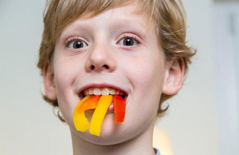 Gesunde Ernährung macht starke Zähne