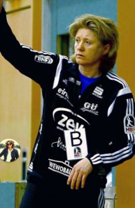 Die neue Miezen-Trainerin Daniela Filip. Foto: Privat