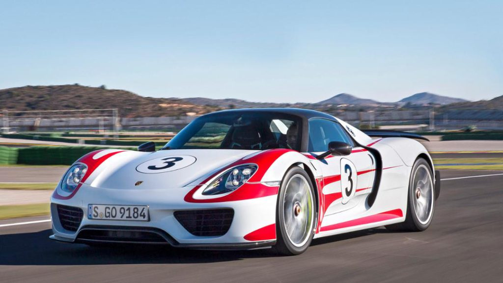 Porsche 918 Spyder, Weissach, 2014 // Foto: Porsche AG