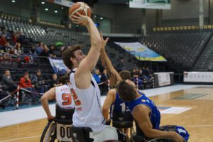 Der Niederländer Mattijs Bellers bot erneut eine starke Leistung. Foto: Sandra Wagner/Doneck Dolphins