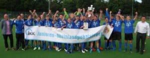 Sieger IKK-C-Junioren-Rheinlandpokal SV Eintracht Trier