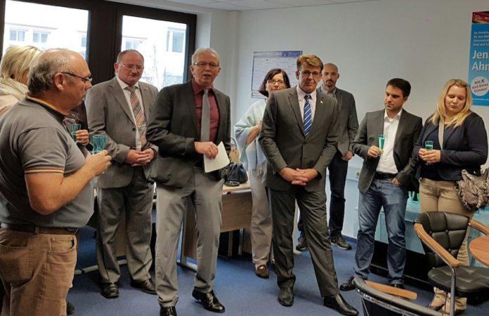 Das AfD-Bürgerbüro in Trier zur Eröffnung.