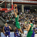 Basketball Römerstrom Gladiators gegen Oettinger