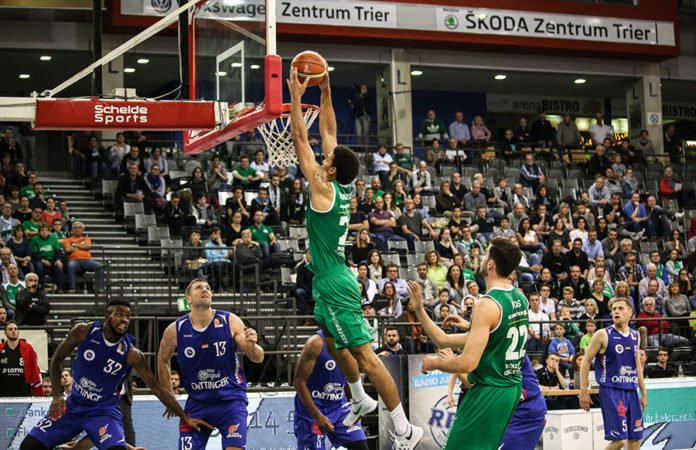Basketball Römerstrom Gladiators gegen Oettinger