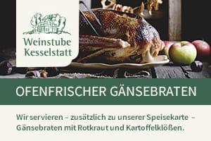 Weinstube Kesselstadt Trier - Ofenfrischer Gänsebraten