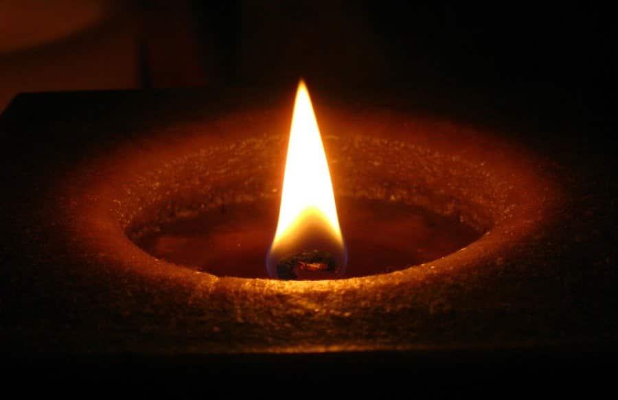 Kerze Tod