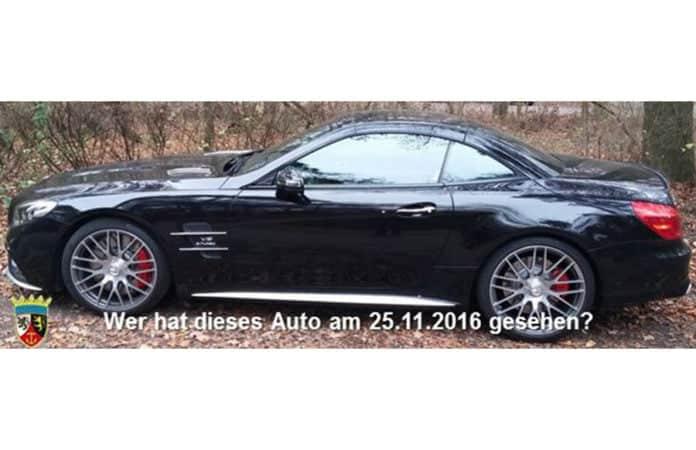 Foto von Mercedes AMG - Mordopfer gesucht