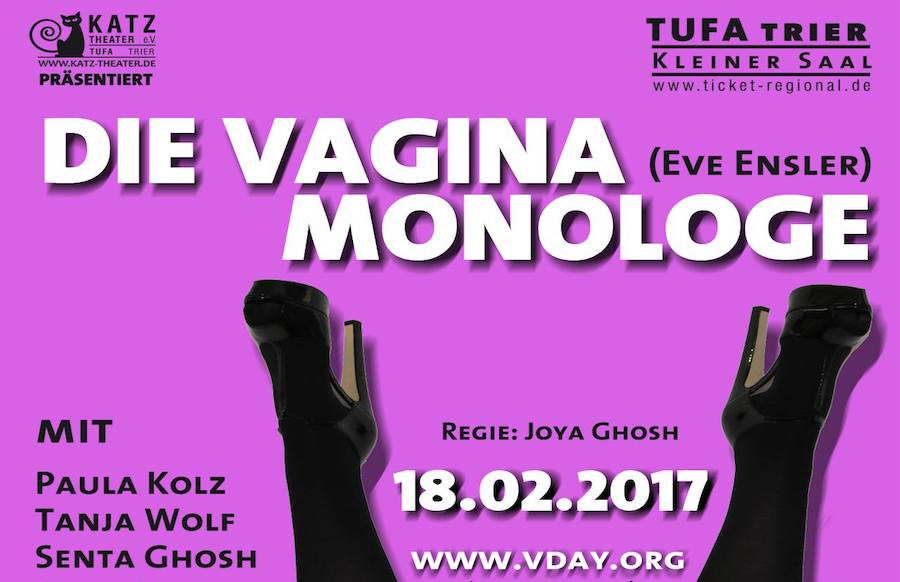 Das KATZ-Theater präsentiert: Die Vagina-Monologe von Eve Ensler