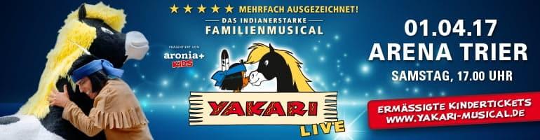 Yakari - Das Familienmusical in der Arena Trier
