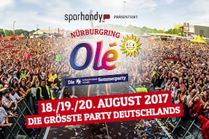 Nürburgring Olé - Die größte Party Deutschlands