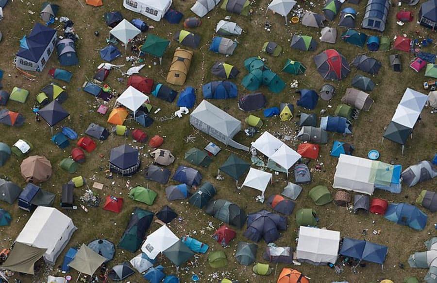 Besucher stirbt am Rande der Schlagerparty am Nürburgring