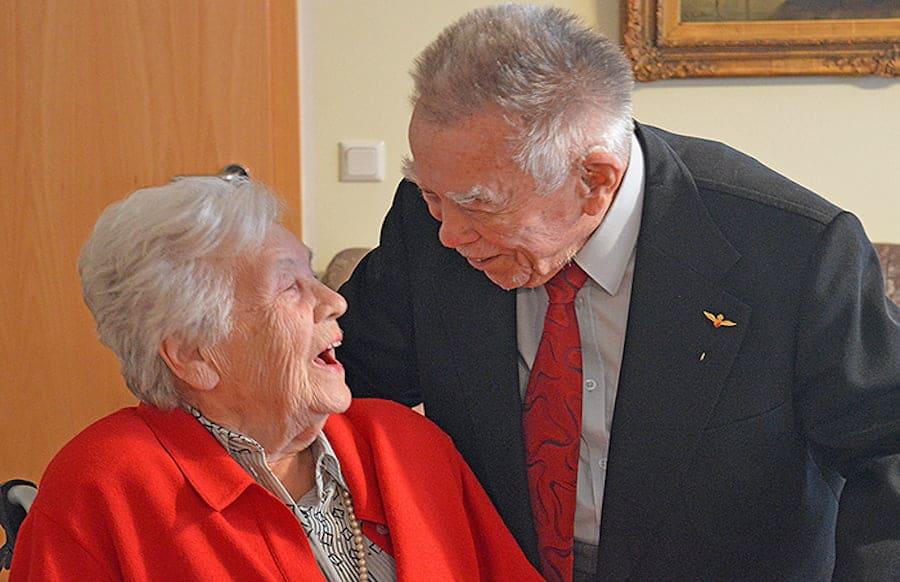 65 Jahre verheiratet - Eurener Ehepaar feiert eiserne