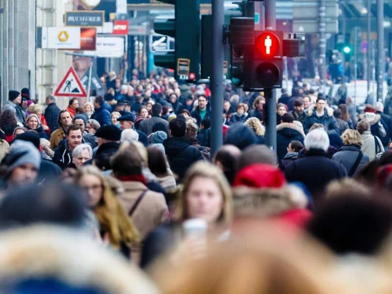 Deutsche Bevölkerung wächst um eine Million bis 2035