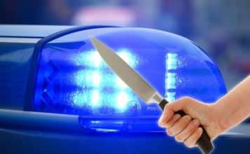 Messerattacke Blaulicht