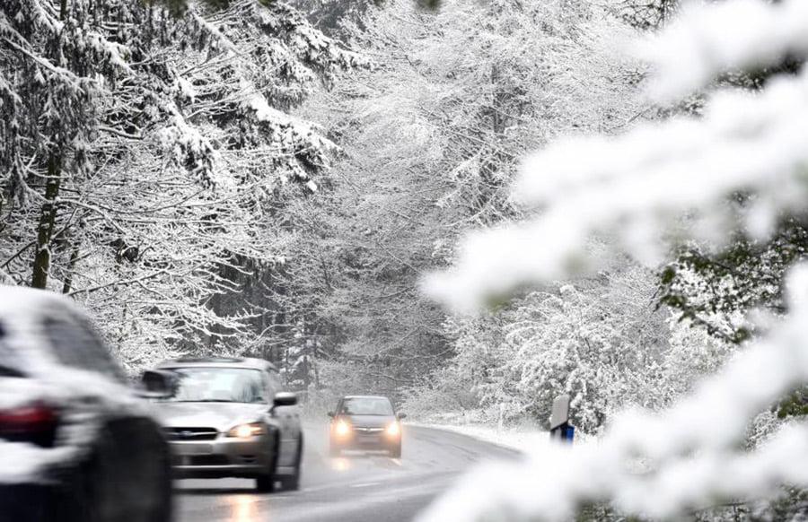 Schnee und Regen am dritten Adventswochenende