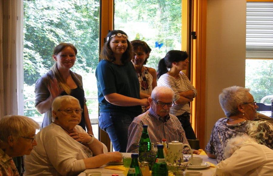 Patientenfest Der Okumenischen Sozialstation Trier Ein Voller Erfolg