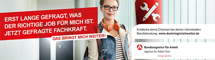 Bundesagentur für Arbeit - DAS BRINGT MICH WEITER