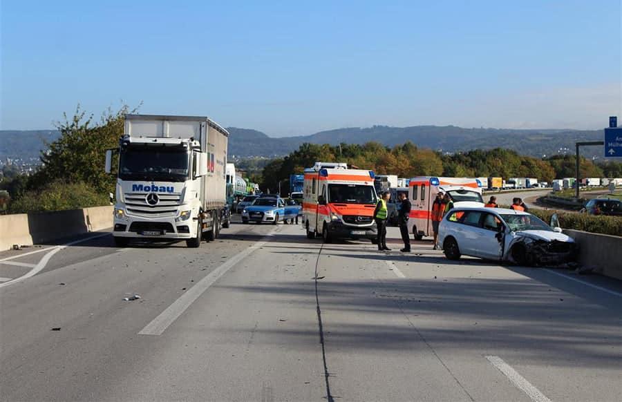 Unfall A48 Koblenz Heute