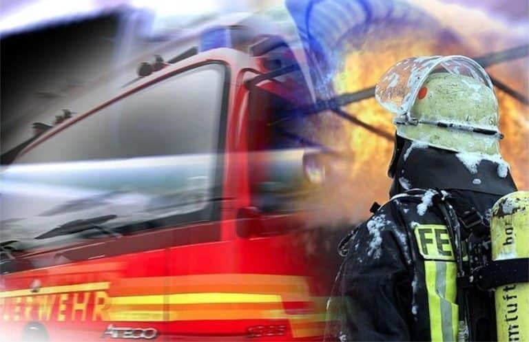 Mehrere Schwerverletzte bei Wohnhausbrand