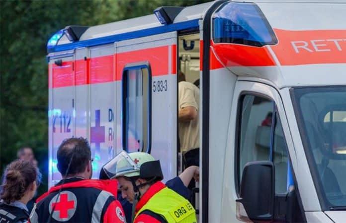 Rettungswagen Rotes Kreuz