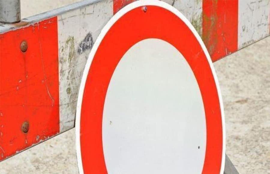 Straßensperrung A1