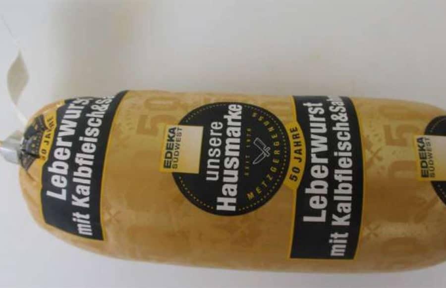 Rückruf: Leberwurst von Edeka ist gefährlich für Kunden