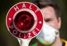 Polizeikontrolle - HALT POLIZEI