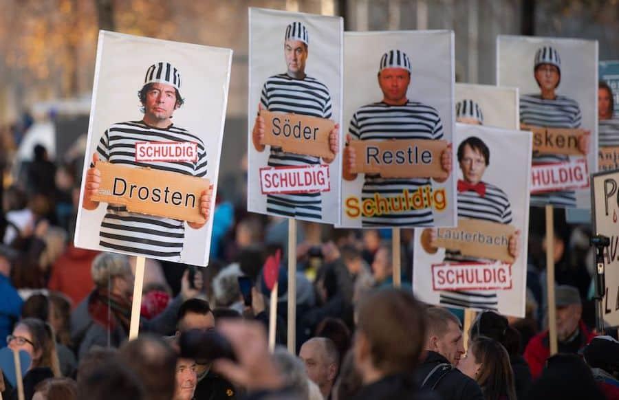 """Große Sorgen"""" - so äußert sich Innenminister Lewentz zu """"Querdenkern"""""""