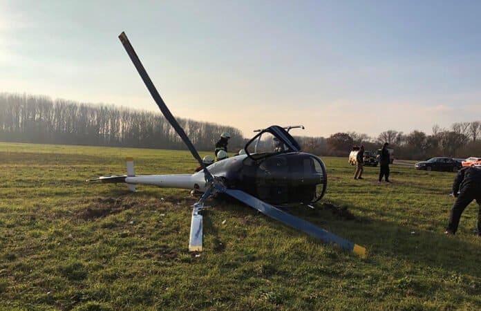 Hubschrauberabsturz Speyer