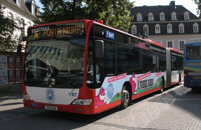 Stadtbus in Trier