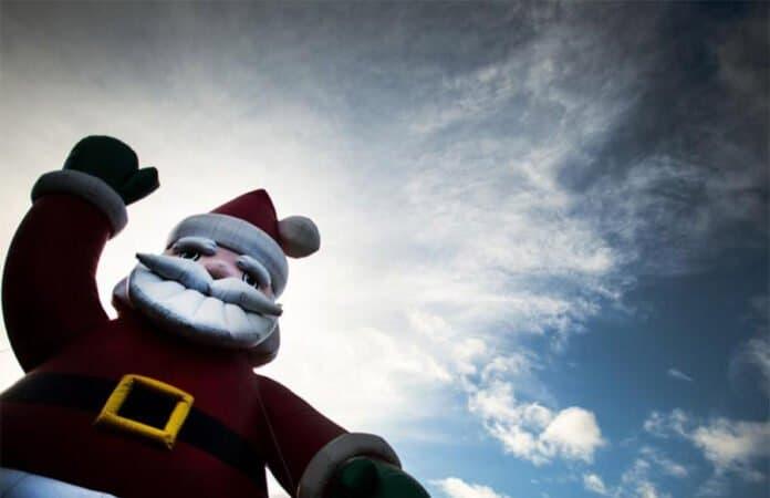 Woken mit Weihnachtsmann